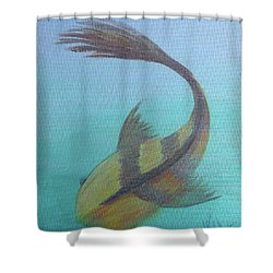 Pearly Fishy Shower Curtain