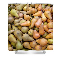 Pears At The Harvest Shower Curtain