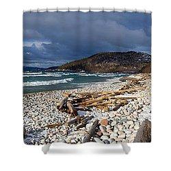 Pebble Beach Shower Curtain