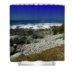 Pebble Beach Shower Curtain