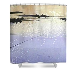 Peche Shower Curtain