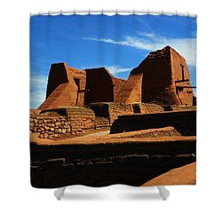 Shower Curtain featuring the photograph Pecos New Mexico by Joseph Frank Baraba
