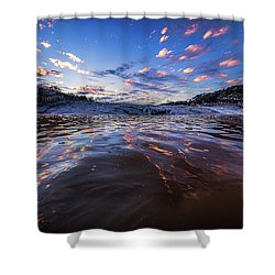 Peddernales Falls Sunset #1 Shower Curtain