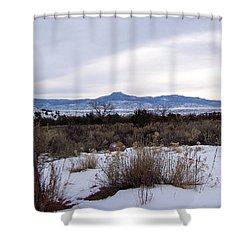 Pedernal Mountain Shower Curtain