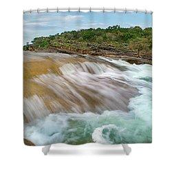 Pedernales Falls Shower Curtain