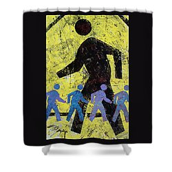 Pedestrian Crossing Shower Curtain