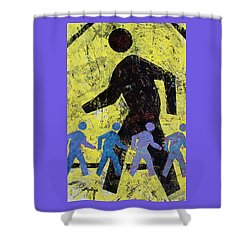 Pedestrian Shower Curtain