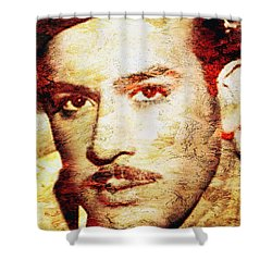 Pedro Infante Shower Curtain