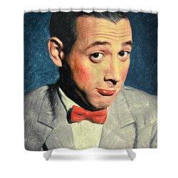 Pee-wee Herman Shower Curtain