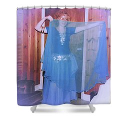 Shower Curtain featuring the photograph Peek-a-boo Dancer by Denise Fulmer