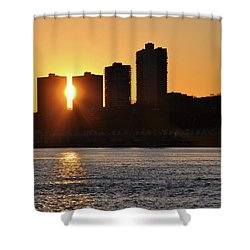 Peekaboo Sunset Shower Curtain