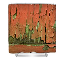 Shower Curtain featuring the photograph Peeling 4 by Mike Eingle