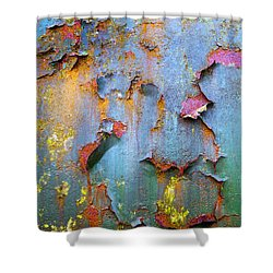 Peeling Paint And Rust Textures 135 Shower Curtain