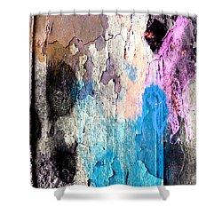 Peeling Paint Shower Curtain
