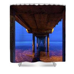 Peer Underneath Shower Curtain