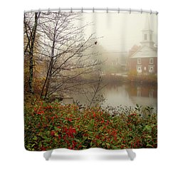 Shower Curtain featuring the photograph Peering Through by Betsy Zimmerli