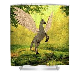 Pegasus Vision Shower Curtain