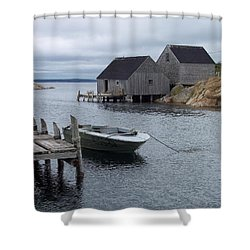 Shower Curtain featuring the photograph Peggys Cove Canada by Richard Bryce and Family
