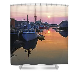 Peggy's Cove, Nova Scotia, Canada Shower Curtain