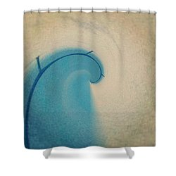 Spiral Bridge Shower Curtain