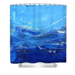 Peinture Abstraite Sans Titre 10 Shower Curtain