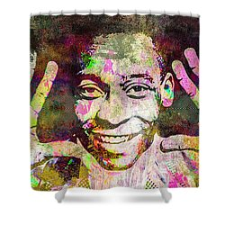 Pele Shower Curtain by Svelby Art