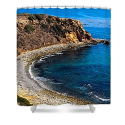 Pelican Cove Shower Curtain by Ed Clark