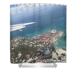 Pelican Key St Maarten Shower Curtain