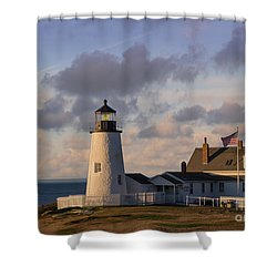 Pemaquid Morning Shower Curtain