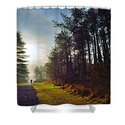 Pembrey Country Park 1 Shower Curtain