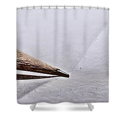 Pencil On Paper Shower Curtain