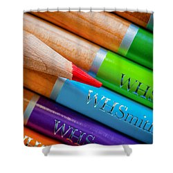 Pencils 3 Shower Curtain