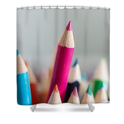 Pencils 4 Shower Curtain