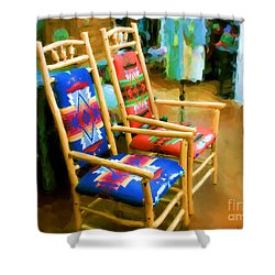Pendleton Chairs Shower Curtain