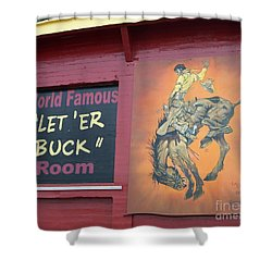 Pendleton Round Up Mural Shower Curtain by Chalet Roome-Rigdon
