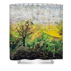 Peneplain Shower Curtain