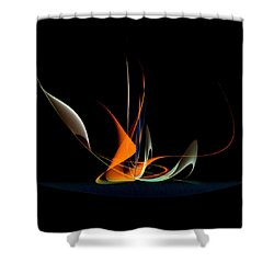 Penman Original-343 Exotic Melody Shower Curtain by Andrew Penman