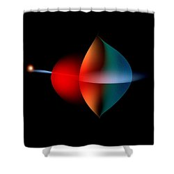 Penman Original-350 Solar Power Shower Curtain by Andrew Penman