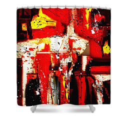 Penman Original-413 Shower Curtain by Andrew Penman