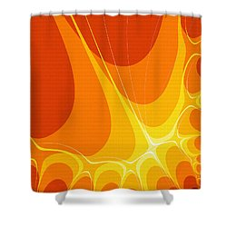 Penman Original-422 Shower Curtain by Andrew Penman