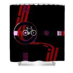 Penman Original-476a Shower Curtain by Andrew Penman
