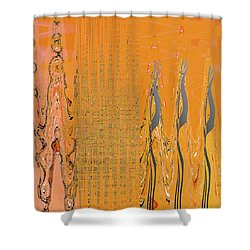 Penman Original-500 Shower Curtain by Andrew Penman