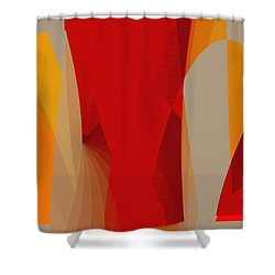 Penman Original-518 Shower Curtain by Andrew Penman