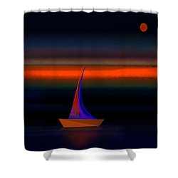 Penman Original-532 Shower Curtain by Andrew Penman