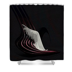 Penman Original-566 Shower Curtain by Andrew Penman