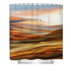 Penman Original-730 Shower Curtain by Andrew Penman