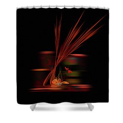 Penman Original-747 Shower Curtain by Andrew Penman