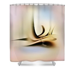 Penman Original-761 Shower Curtain by Andrew Penman