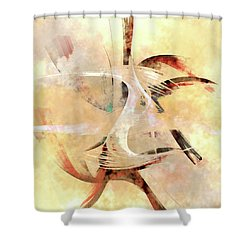 Penman Original-824 Shower Curtain by Andrew Penman