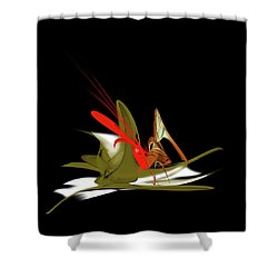 Penman Original-837 Shower Curtain by Andrew Penman
